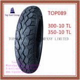 Superqualität, schlauchlose, lange Lebensdauer-Motorrad-Reifen mit 300-10tl, 350-10tl