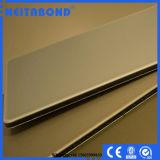 El panel compuesto de aluminio revestido de Neitabond 4m m PVDF para el revestimiento de la pared exterior