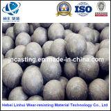 Alta bola del molde del cromo/bolas de pulido/arriba del bastidor de la bola de acero/del cromo bola de la explotación minera de la resistencia de desgaste de la dureza