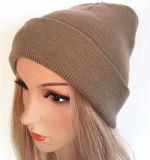 La corrección del sombrero de 2016 maneras bordó el sombrero hecho punto casquillo de la gorrita tejida del casquillo