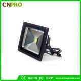Schwarzes Flutlicht des Gehäuse-50W LED mit Stecker