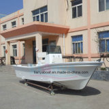 Liya 5.8m New Fishing Boat Fiberglass Fishing Boat Panga Boat con Outboard Motor