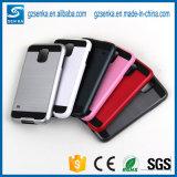 Caixa Smartphone do cetim da escova para a nota 5 da galáxia de Samsung