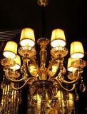 [فين] 02155 حديثة مدلّاة إنارة مع [سوروفسكي] أو [ك9] بلّوريّ زخرفة تركيب مصباح ثريا ضوء