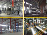 Technologie de rebut de distillation d'huile à moteur, régénération de pétrole, pétrole réutilisant la machine