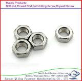 Noix Hex en acier de zinc de prix usine de qualité avec la qualité de prix bas