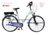 Garanzia elettrica a basso rumore eccellente di Ebicycle della città della bici certificata En15194 del Ce dell'onda di seno 2 anni di Monca di modello elettrico della bici: M750