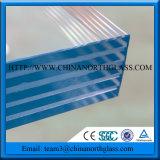 3-22mm подкрашиванное прокатанное стекло с цветом PVB