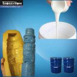 Borracha de silicone de moldagem para produtos de betão decorativos
