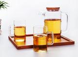 Potenciômetro elevado do vidro do chá do potenciômetro do vidro de Borosilicate