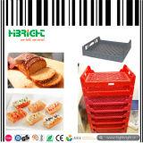 Bandejas plásticas do naco das caixas do brinde do pão