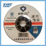 Il disco di molatura abrasivo per i dischi di molatura metallo/dell'acciaio inossidabile/ha depresso la rotella concentrare
