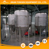 equipo de la fabricación de la cerveza de la cervecería del certificado del Ce 5000L con acero inoxidable