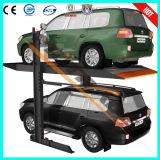 Garagem de estacionamento simples do carro da lavadeira de dois SUV