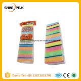 2016 Lavado caliente precio de fábrica de paño, almohadillas de fregado de esponja, esponja Scourer
