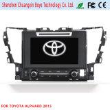 Reproductor de DVD del coche para Toyota Alphard 2015