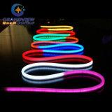 Luz flexible de neón impermeable Double-Faced ampliamente utilizada del tubo del LED