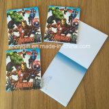 Изготовленный на заказ напечатанное Marvel блокнот подарка пусковой площадки примечания выдвиженческое