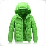 Куртки детей вниз выстегали куртку 601 зимы реальную вниз