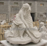 Steinmarmorstatue für Garten-Skulptur (SY-X1723) schnitzen