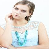 新しいデザイン自然な石のビードの方法ネックレスの宝石類