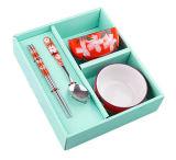 Casella di memoria del pacchetto del regalo del cartone per i mestieri di arti della forcella del cucchiaio della lama dei regali del braccialetto di vigilanza della penna dei monili (LP040)
