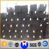100X100mm Kohlenstoffstahl-Quadrat-Gefäß für Metallbaumaterial