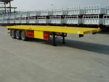 Semi-Trailer Flatbed do recipiente de Carring do recipiente