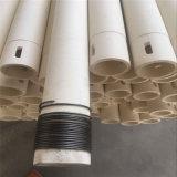摩耗の抵抗力がある95%高いアルミナ陶磁器はさみ金の管