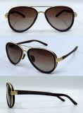 مصمّم جديد تماما بلاستيكيّة نمو نظّارات شمس لأنّ نساء/سيدة ([دب1254ز])