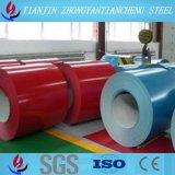 Катушка изготовления Китая покрынная цветом стальная в хорошем цене