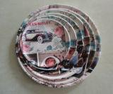Prato redondo plástico de /Plate/ da bandeja