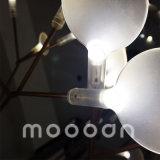 Il Heracleum moderno della filiale della ciliegia degli alberi di Natale lascia l'indicatore luminoso del pendente del lampadario a bracci di Glowworm LED