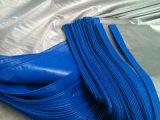 Blue/Silver de Plastic Dekking van het Geteerde zeildoek
