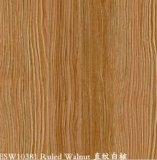 Aço pre pintado da grão de madeira (noz governada)