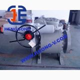 La bride à haute pression d'API/DIN 3PC a modifié le robinet à tournant sphérique en acier
