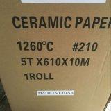 À prova de fogo e Thermal que isolam o papel da fibra cerâmica