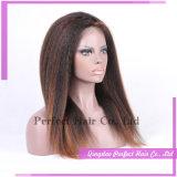 Самые лучшие продавая горячие человеческие волосы парика шнурка для чернокожих женщин