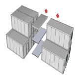 Envase prefabricado del paquete plano para el refugiado y el campo de trabajos forzados (KXD-SSW61)