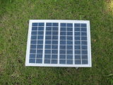 Panneau solaire polycristallin 5W pour le système de d'éclairage solaire à la maison de DEL
