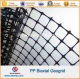 Polypropylene PP Geogrid biaxial para a estabilização da terraplenagem