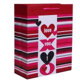 Satin Ribbon Handleの水晶Gift Paper Bags