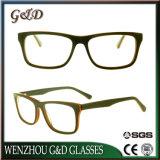 Frame Sr6070 van de Glazen van het Oogglas van Eyewear van de Voorraad van de Acetaat van de manier het In het groot Optische