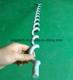 Apagador espiral de la vibración del PVC