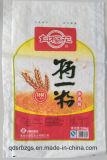 Plastic PP saco tecido para trigo, farinha, arroz, milho, fertilizante