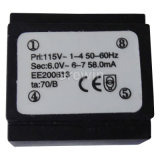 Trasformatore incapsulato prova secondaria di cortocircuito con l'IEC
