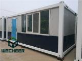큰 유리제 Windows 조립식 콘테이너 상점을%s 가진 콘테이너 집