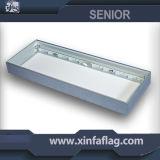 2016 새로운 최신 판매 알루미늄 프레임 직물 LED 점화 상자
