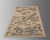 機械を切り分けるペーパーまたはアクリルか木製レーザーの彫版の切断