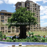 Factory Hot Sale Fake Artificielle Synthétique Banyan Ficus Tree